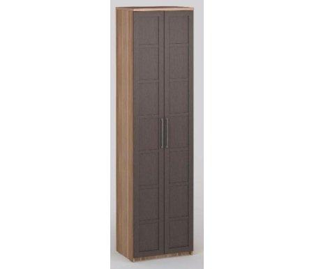 Шкаф платяной 45 Соло-027 ДСП слива / венгеШкафы<br>Дополнительно можно приобрестивкладные полки.<br>