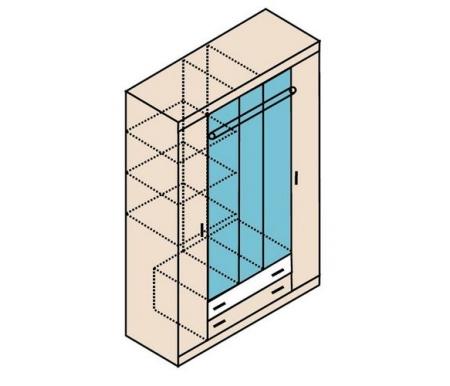 Шкаф пятидверный Заречье