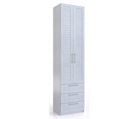 Шкаф с тремя ящиками Эстель СВ-401 вудлайн кремовыйШкафы<br><br>