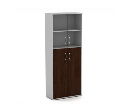 Шкаф СТ-1.7Шкафы<br>Шкаф СТ-1.7 входит в коллекцию офисной мебели Imago. <br>  <br> Модель изготовлена из ЛДСП и комплектуется четырьмя полками (толщиной 1,8 см). Нижняя зона закрывается распашными дверцами (ЛДСП), верхняя - стеклянными (тонированное стекло, бронза).<br><br>Цвет: Клен<br>Цвет: Груша ароза<br>Цвет: Ясень шимо<br>Цвет: Французский орех<br>Цвет: Венге<br>Ширина: 77 см<br>Глубина: 36,5 см<br>Высота: 197,5 см<br>Материал: ЛДСП<br>Цвет: груша, орех, ясень, клен / металлик, венге / металлик