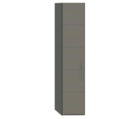 Шкаф торцевой с одной дверью Наоми СМ-208.07.08Шкафы<br>Тип шкафа - торцевой скошенный. Ширина боковой стороны - 39,9 см.<br>МДФ плита покрыта пленкой ПВХ.<br>