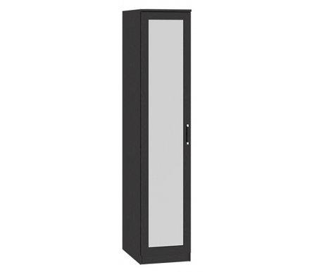 Шкаф торцевой с зеркалом Токио СМ-131.10.002 венге цавоШкафы<br>Шкаф торцевой с зеркалом Токио СМ-131.10.002 выполнен в современном стиле. <br>Расположение двери шкафа определяется при сборке, может быть как слева, так и справа.<br> <br>Оснащен пятью полками.<br> <br>Ручка выполнена из пластика.<br>