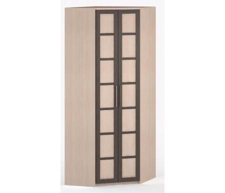 Шкаф угловой 45-45 Соло-036 ДСП молочный дуб / венге / молочный дубШкафы<br><br>