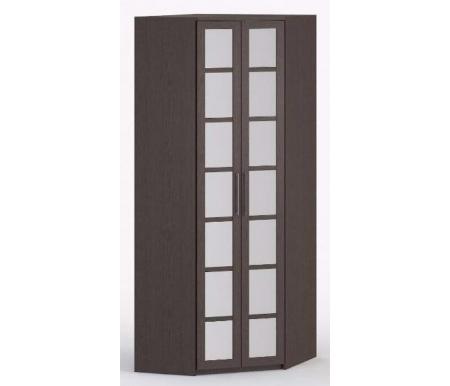 Шкаф угловой 45-45 СОЛО-036 зеркало Васко