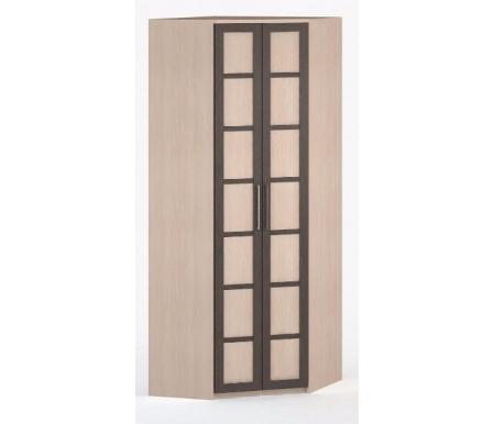 Шкаф угловой 45-60 СОЛО-030 ДСП молочный дуб / венге / молочный дубШкафы<br><br>