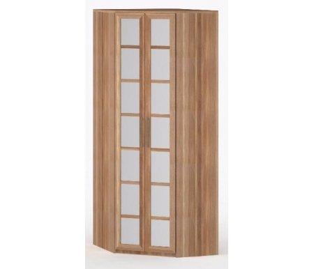 Шкаф угловой 60-45 Соло-014 с зеркалом слива / сливаШкафы<br><br>