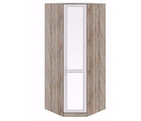 Шкаф угловой с зеркалом Прованс СМ-223.07.007 правыйШкафы<br>Ширина боковой стороны - 58 см.<br>