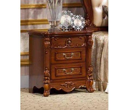 Тумба прикроватная Виолетта OYF-8929Тумбы<br>Элегантная прикроватная тумбочка OYF-8929 будет отличным дополнением к спальне, составленной из мебели коллекции Виолетта.<br><br>Ширина: 58 см<br>Глубина: 42 см<br>Высота: 64 см<br>Материал: МДФ<br>Цвет: темный орех