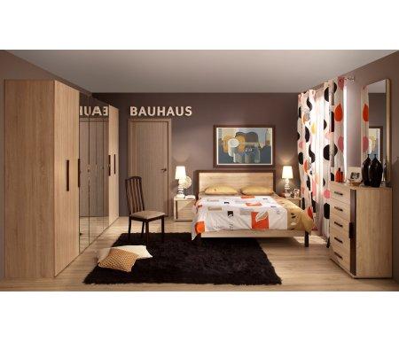 Купить Спальный гарнитур Арника, Баухаус (Bauhaus) дуб сонома (комплектация 2)