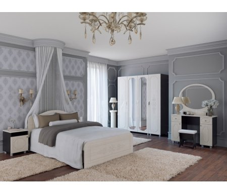 Спальня Фиеста-М (комплектация 1)Спальные гарнитуры<br>Вы можете дополнить данную комплектацию модулями из коллекции Фиеста-М.<br>