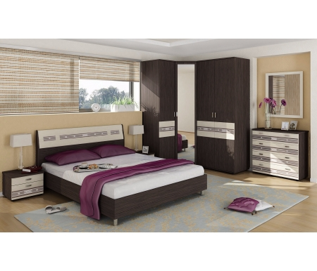 Спальня Ривьера (комплектация 1) Витра