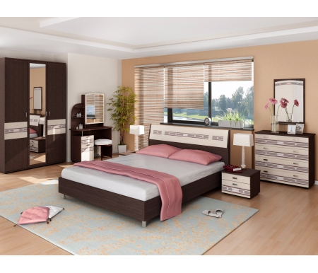 Спальня Ривьера (комплектация 2) Витра
