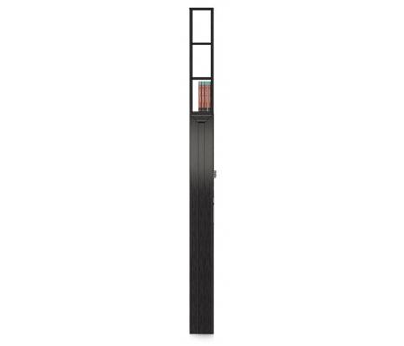 Пенал прикроватный Джейн CB-441 / 1Стеллажи<br>У пенала есть полки в верхней части спереди и в нижней части сбоку, удобная альтернатива прикроватной тумбе.<br><br>Цвет: Дуб феррара<br>Ширина: 16,5 см<br>Глубина: 58,5 см<br>Высота: 223 см<br>Материал каркаса: ЛДСП<br>Материал фасада: МДФ<br>Цвет: дуб феррара