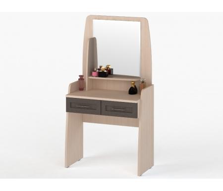 Стол туалетный СОЛО-033 молочный дуб / венгеТуалетные столики<br><br>