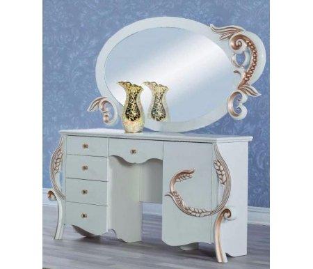 Туалетный стол с зеркалом Жасмин 10300Туалетные столики<br><br>