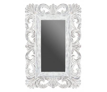 Зеркало Gerda Z-03 белое Этажерка