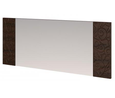 Зеркало настенное со вставками Ирис 18 дуб тортонаЗеркала<br>На вставках справа и слева имеется декоративный объемный рисунок.<br>