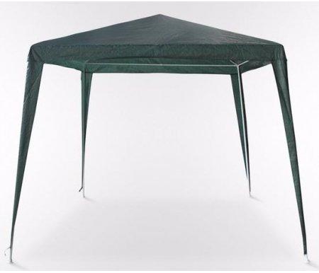 Садовый шатер AFM-1022A greenБеседки<br>Шатер трапецевидной формы из полипропиленовой тканина каркасе из стали. Диаметр стальной трубы 25 мм и 19 мм.<br><br>Длина нижнего квадрата трапецевидного шатра: 300 см<br>Ширина нижнего квадрата трапецевидного шатра: 300 см<br>Длина верхнего квадрата трапецевидного шатра: 240 см<br>Ширина верхнего квадрата трапецевидного шатра: 240 см<br>Высота: 250 см<br>Материал каркаса: сталь<br>Цвет каркаса: белый<br>Материал тента: полипропиленовая ткань<br>Цвет тента: зеленый<br>Вес: 6 кг
