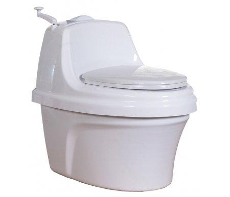 Биотуалет Piteco 400Биотуалеты<br>Туалет торфяной с разделением жидких и твердых отходов и наличием створок приемного отверстия из сантехнического пластика. <br> <br>  <br> <br> <br>Комплектация: <br> <br>-корпус туалета, состоящий из двух частей – верхней и нижней; <br> <br>-сиденье для унитаза с крышкой; встроенный бункер для хранения запаса торфяной композиции; крышка бункера торфяного; <br> <br>-механизм подачи торфяной композиции в сборе (ручка с рычагом приводные шестерни, торфоразбрасывающие диски-звездочки); <br> <br>-съемная приемная (накопительная) камера туалета; <br> <br>-вентиляционные трубы с соединительными муфтами (4 трубы по 800 мм); <br> <br>-торфяная композиция (мешок емкостью 30 л); <br> <br>-совок для засыпки торфяной композиции в бункер. <br> <br>Данная модель оснащена дополнительным конструкционным элементом: автоматическими шторками входного отверстия приемной камеры с механизмом управления, которые обеспечивают эстетический вид даже наполненного туалета.<br>