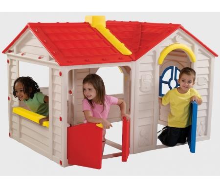 Детский домик АладдинДетские домики<br>Размер упаковки: 122 x 104 x 30,5 см.<br>