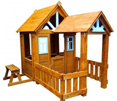 Детский деревянный домик для дачи купить в интернет магазине КАнт