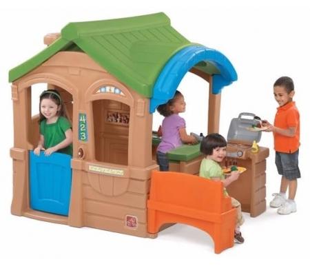 Детский пласитковый домик для дачи купить в интернет магазине КАнт