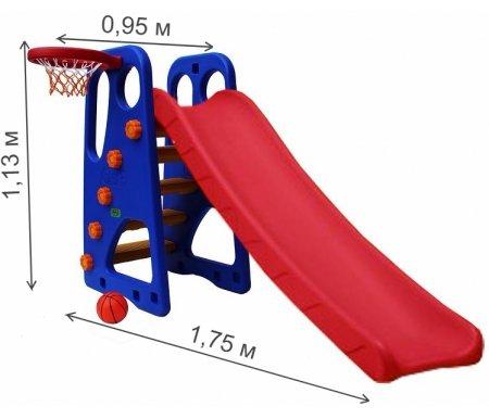 Детская горка Kms-sport
