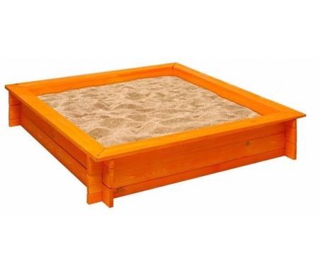 Купить Деревянная песочница Paremo, Афина оранжевая, Россия, оранжевый
