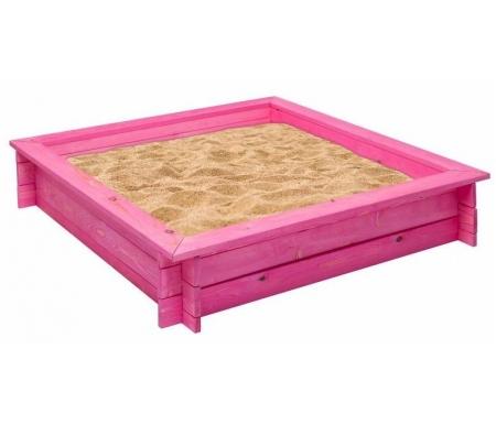 Купить Деревянная песочница Paremo, Афродита розовая, Россия, розовый