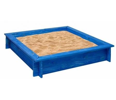 Купить Деревянная песочница Paremo, Одиссей синяя, Россия, синий