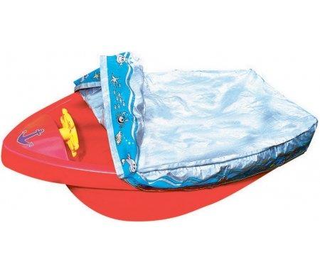 Песочница-бассейн Грант с покрытием красная Kms-sport