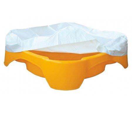 Песочница-бассейн Зак с покрытием желтая Kms-sport