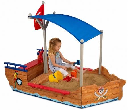 Купить Песочница KidKraft, Пиратская лодка, США