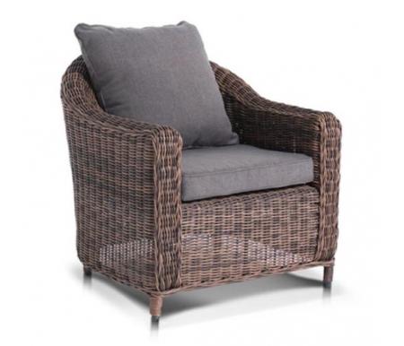 Купить Кресло 4sis, из ротанга Доса / Кон Панна коричневоe, Китай, коричневый