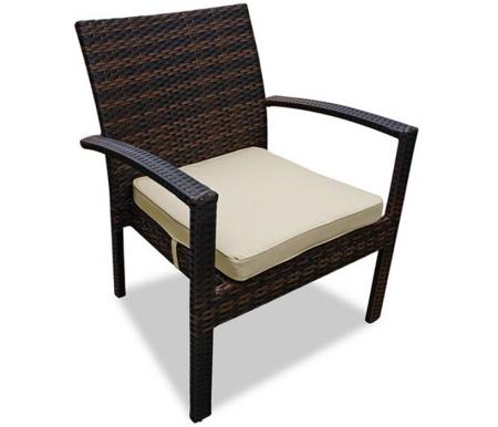 Купить Кресло Joygarden, из ротанга Milano темно-коричневое, Китай, темно-коричневый