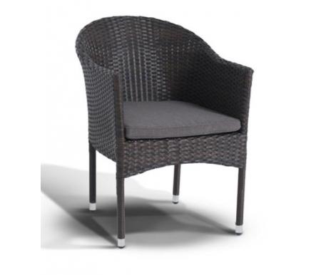 Купить Кресло 4sis, из ротанга Пайн / Фраппе коричневое, Китай, темно-коричневый