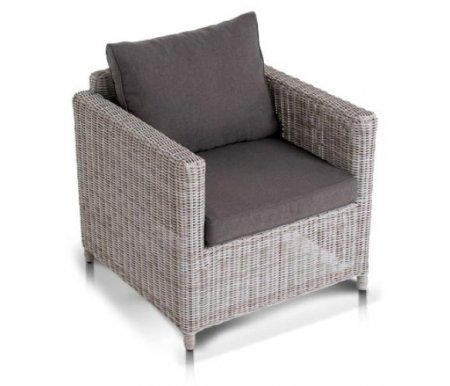 Купить Кресло 4sis, из ротанга Райта / Макиато Бьянко белое, Китай