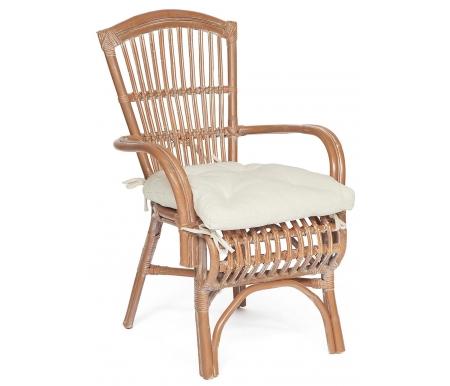 Купить Кресло Тетчер, из ротанга Secret De Maison Levy white wash, натуральный / whitewashed