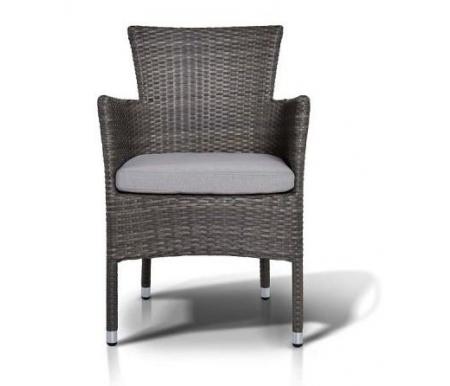 Купить Кресло 4sis, из ротанга Тикка / Терни серо-коричневое, Китай, серо-коричневый