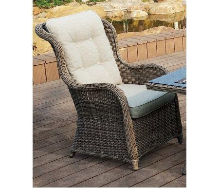 Плетеное кресло DinkКресла<br>Кресло плетеное вручную из искусственного ротанга высокого качества. Подушки сделаны из водоотталкивающей ткани высокого качества.<br>