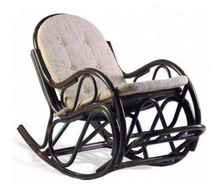 Здесь можно купить с подножкой 05/17 венге  Кресло-качалка Garden Кресла-качалки из ротанга