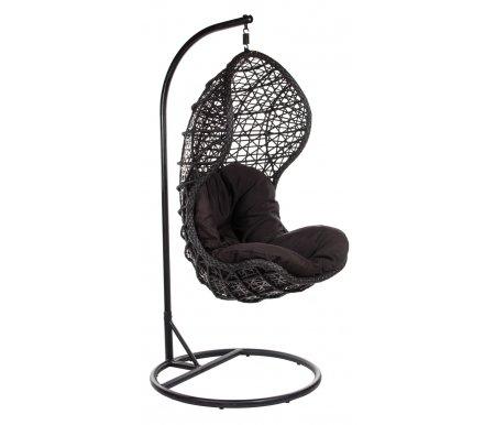 Плетеное подвесное кресло из ротанга Mafiya Joygarden