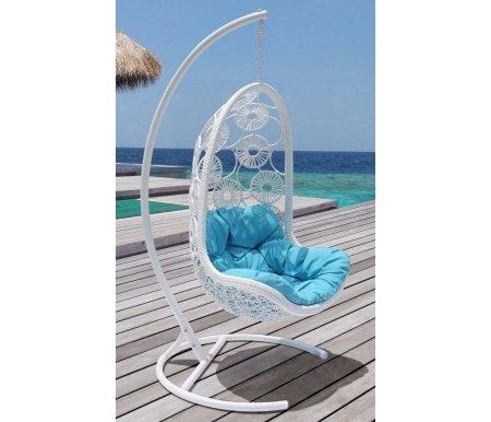 Подвесное кресло FlowersПодвесные кресла<br>Размер чаши: 83 см х 73 см х 132 см.<br>
