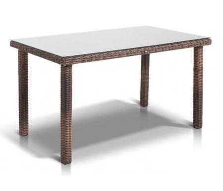 Купить Обеденный стол 4sis, из ротанга Палак / Макиато коричневый, Китай