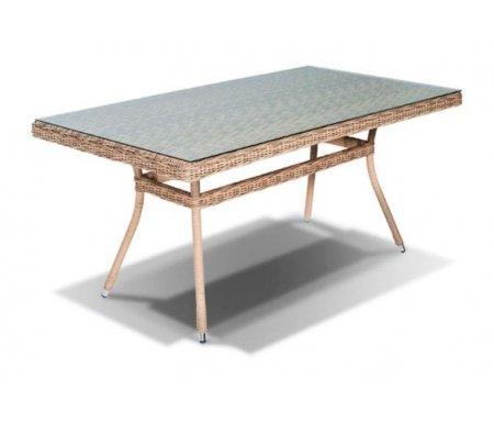 Купить Обеденный стол 4sis, из ротанга Тали / Латте 160 соломенный, Китай