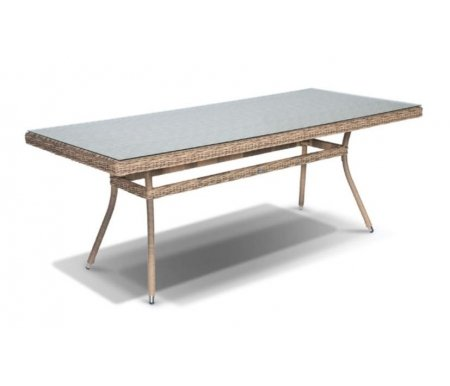 Купить Обеденный стол 4sis, из ротанга Тали / Латте 200 соломенный