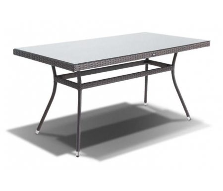 Купить Обеденный стол 4sis, из ротанга Вайлд / Торре коричневый, Китай, темно-коричневый