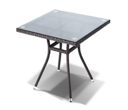 Купить Обеденный стол 4sis, из ротанга Вуд / Корто коричневый, Китай