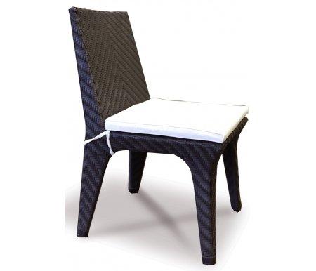 Стул PocoСтулья<br>Идеально черный стул итальянского бренда прекрасно дополнит ваш дом. Плоское ручное плетение модели придаст особый элегантный вид в любом месте.<br>
