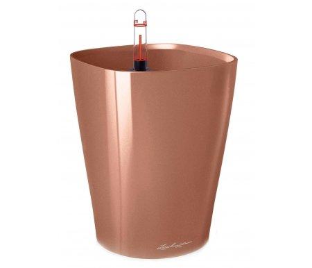 14922 Кашпо 14/18 Дельтини Золотисто-розовое с системой поливаКашпо<br><br>